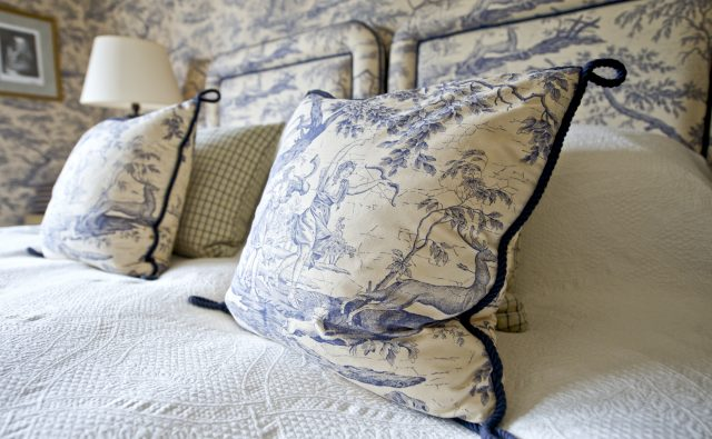 English country house bedrooms Midhurst West Sussex
