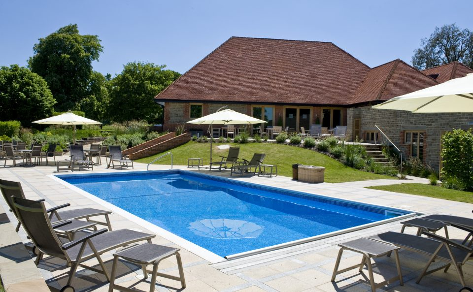 outdoor pool midhurst park house hotel spa retreat